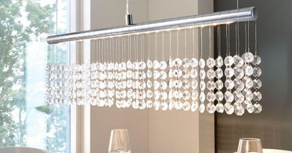 pendelleuchte esszimmer, deckenleuchte kristall, esszimmer lampen
