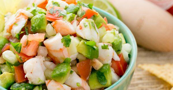 Shrimp Avocado Salsa | Recipe | Shrimp Avocado, Shrimp and Avocado