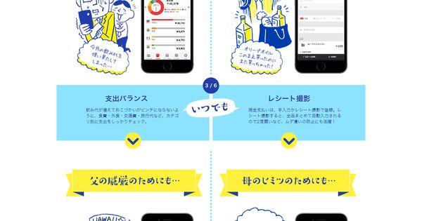 楽天カード マンガで見る 実践 アプリで家計簿活用術 ウェブ