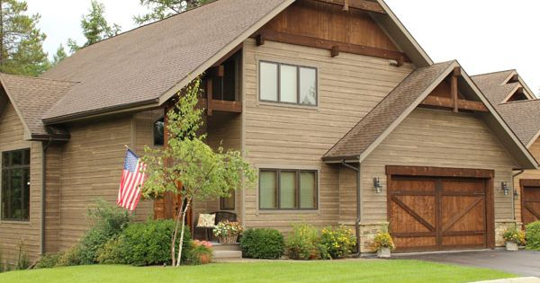 Woodtone Rusticseries Siding On A Home On Montana Rustic