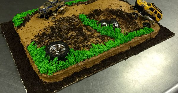 Mud Bogging Cake Cakes And Cupcakes Pinterest Cake