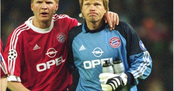 stefan effenberg with oliver rolf kahn two legends in. Black Bedroom Furniture Sets. Home Design Ideas