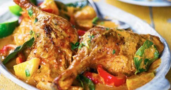 طريقة عمل البط بالكاري اللذيذ Coconut Curry Recipes Curry Recipes Slow Cooker Curry Recipes