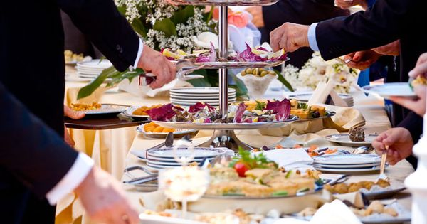 Wedding food stations better way to present wedding reception food by key largo lighthouse for Key largo buffet