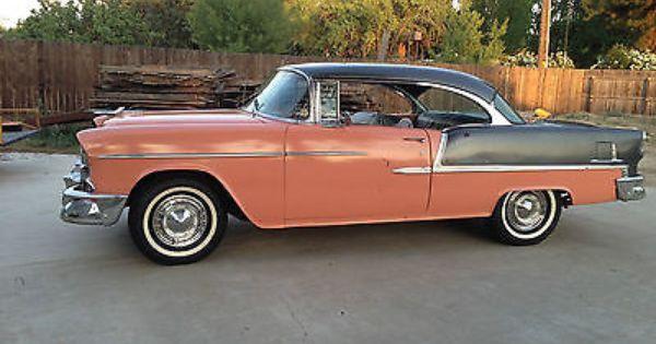 1955 Chevrolet Belair 2 Door Hardtop Very Solid California Car