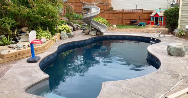 Traditional In Ground Pool We Installed In Dartmouth Nova