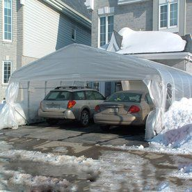 Shop Carports Patio Covers At Lowes Com Minimalist Decor Carport Portable Carport