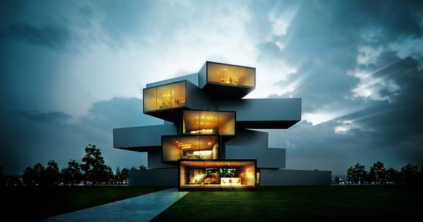 Modern House by Sérgio Merêces ocjohn.com high end real estate