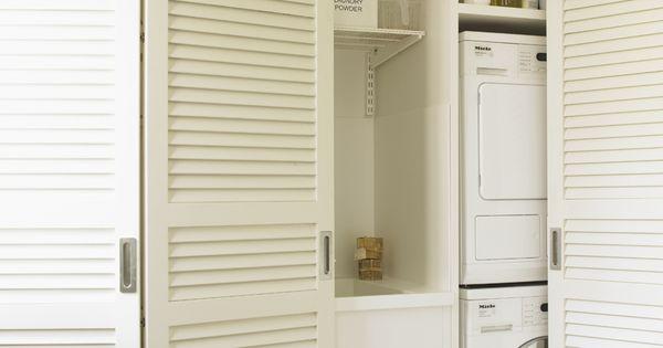 3 pasos para organizar un cuarto de lavado y plancha - Armarios para lavaderos ...