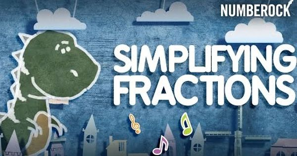 numberock simplest form Simplest Form Song: Simplifying Fractions by NUMBEROCK