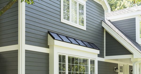 James Hardie S Iron Gray Siding Looks Like Smooth Lap