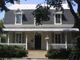 My Favorite Type Of Roof Outdoor Remodel Mansard Roof House With Porch