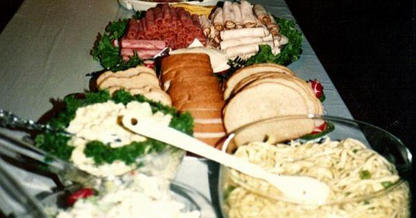 Wedding Food Planning A 50th Wedding Anniversary Party