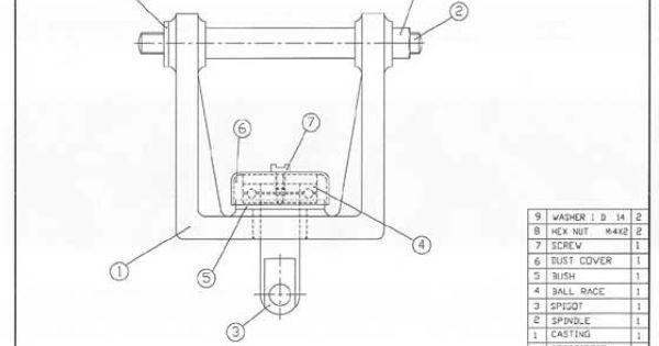 Mechanical Engineering Drawings | Adjustment Unit Engineering Drawing Junction Box Engineering ...