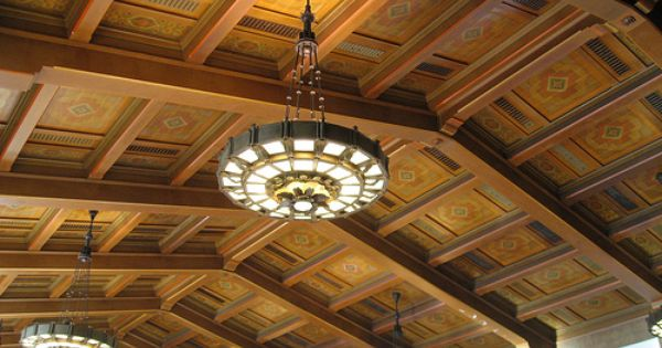 Union Station Los Angeles Union Station Los Angeles Architecture Railroad Station