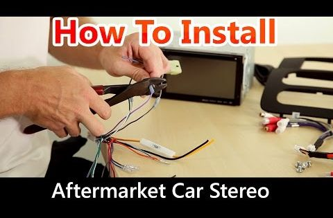 How To Install An Aftermarket Car Stereo Wiring Harness And Dash Kit
