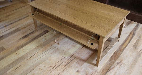 Beautiful Coffee Table With Secret Compartments From