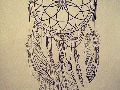 dreamcatcher tattoo, I would get this on the side of | Quotes at ...