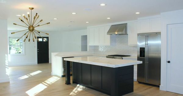 Island With Seating On Two Sides L Shaped Kitchens