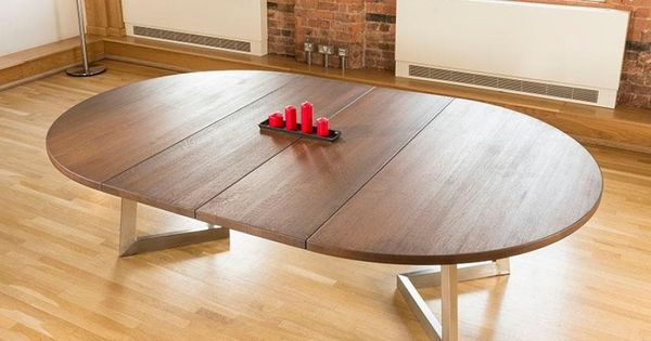 massive 180280cm extending luxury roundoval dining table oak brown lovely quality from this top danish fully 13 woou2026