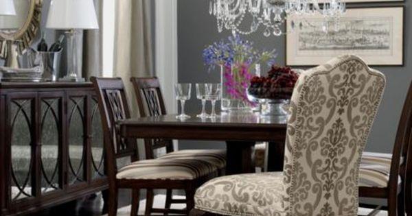 ... Ethan Allen Dining Table Chairs By Ethanallen Com Townhouse Brandt  Buffet Ethan Allen ...