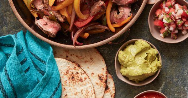 Beef Fajitas with a Cilantro Lime Marinade | Recipe | Cilantro ...
