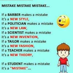 English Mistake Mistake Mistake Funny Joke Jpg 300 300 English Jokes Funny English Jokes Best Funny Jokes