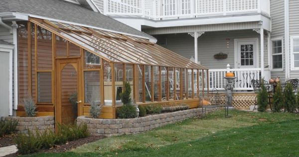 Tudor lean to greenhouse garden pinterest beautiful for Lean to addition to garage