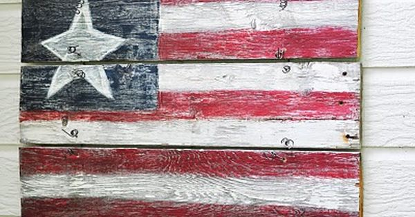4th of july wood crafts, my kids would love this!