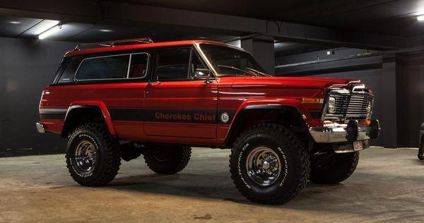 a 1975 Jeep Cherokee Chief. - https://www.pinterest.com ...
