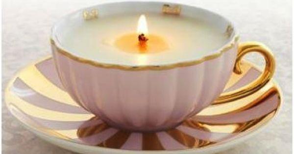 diy gift idea: teacup candle @Taylor Hensling lolz next time we make