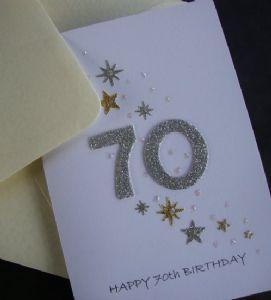 Rosie Design 70th Birthday Card 70 70th Birthday Card Birthday Cards Birthday Cards For Men