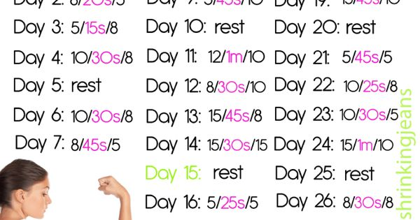 30 Day Arm Toning Challenge Great Fitness Blog Health