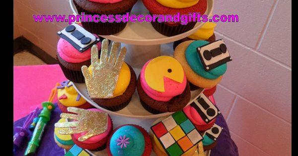 80's Cupcakes