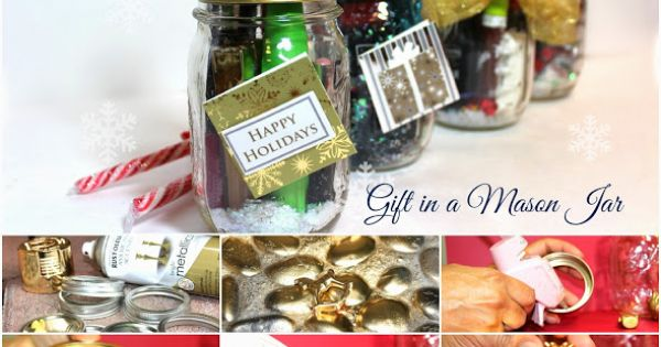 DIY Gift in a Mason Jar.. click for details
