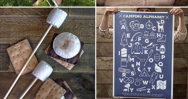 diy camping bedroom round up