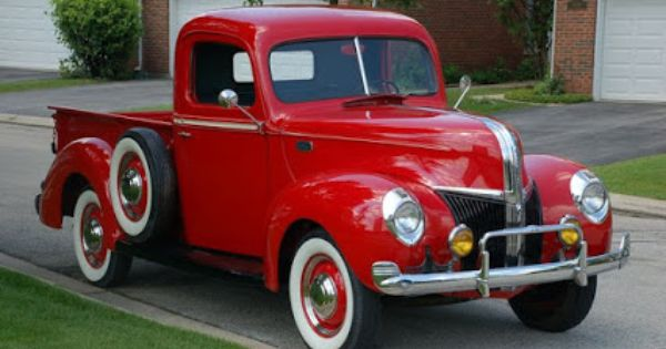 Ford Pickup 1940 Ford Pickup Trucks Old Pickup Trucks Old
