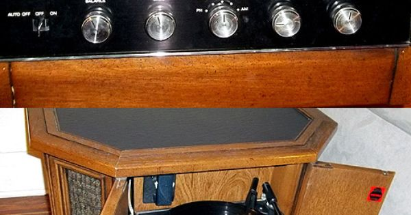 Sold Vintage 1970 S Magnavox Drum Table Console Stereo