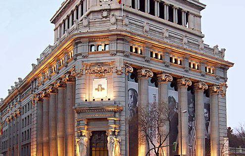 Banco espa ol del r o de la plata madrid del arquitecto antonio palacios ramilo - Arquitecto de interiores madrid ...
