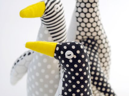 Purl Bee Penguin diy penguin diy ideas diy crafts do it yourself