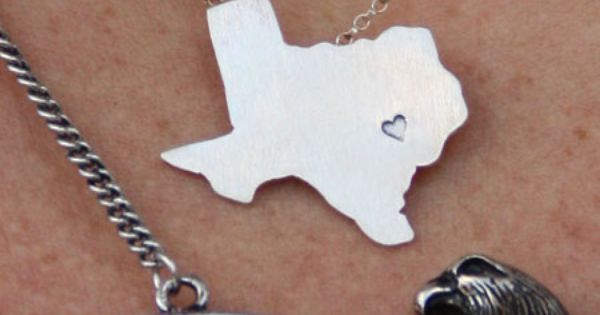 I want this Junk Gypsy TX necklace! Love it!