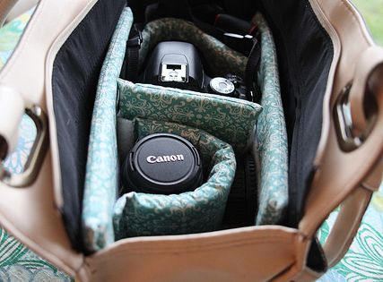 .... DSLR Camera Bag tutorial