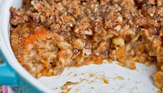 IMG 1436 21 Sweet Potato Oatmeal Breakfast Casserole ...
