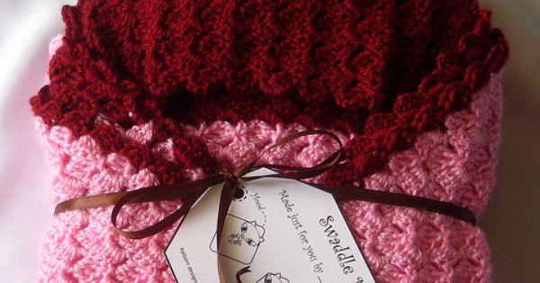 Free Crochet Pattern Baby Swaddling Blanket : Crochet~ Swaddle Me Blanket- Free Pattern Free Crochet ...