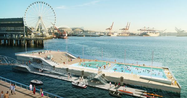 Seattle Waterfront Pool Barge Public Pools Pinterest Seattle Pools And Projects