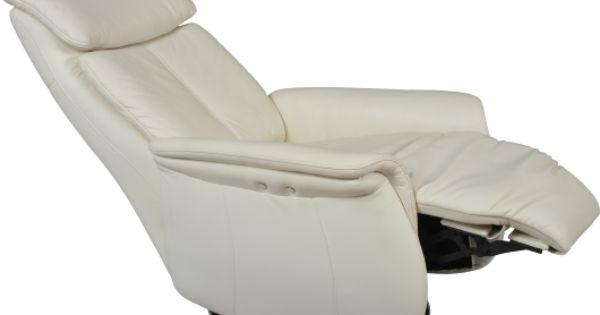Superbe fauteuil de relaxation lectrique bergen cuir la forme chaise longu - Chaise de relaxation ...