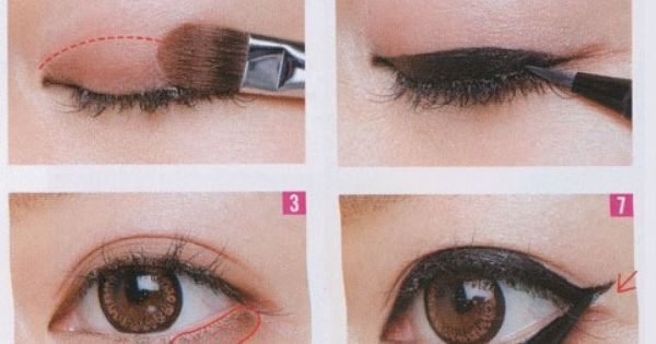 Simple steps for beautiful natural makeup on Asian eyes! Jess--check it out