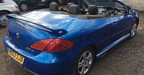 Peugeot 307 Cc 2 0 Registered On A 04 Plate Peugeot Cars Peugeot Petrol Bmw Car