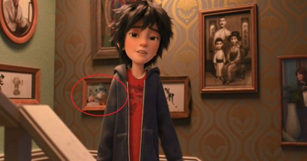 Here Is The Cutest Easter Egg You Missed In Big Hero 6 Big Hero Big Hero 6 Hero 6