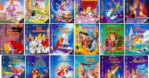 She Almost Threw Away All Her Old Vhs Tapes Then She Found Some Very Valuable Information Disney Vhs Tapes Vhs Tapes Vhs